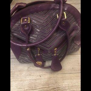 Sharif purple bag